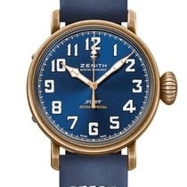 Zenith Pilot Type 20 Extra Special Bronze 45mm Blue Arabic numerals United States of America, New York, New York