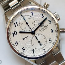 TAG Heuer Carrera Calibre 16 Steel 41mm Silver Arabic numerals United States of America, Virginia, Sterling