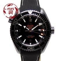 Omega (オメガ) シーマスター プラネット オーシャン セラミック 45.5mm ブラック アラビアインデックス 日本, Kawasaki