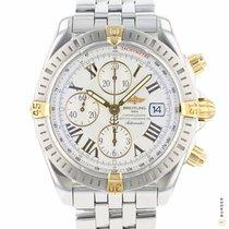 Breitling Chronomat Evolution Gold/Stahl 43.7mm Silber