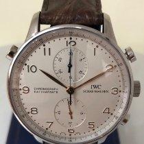 IWC Portuguese Chronograph Steel 41mm Silver Arabic numerals United States of America, New York, New York