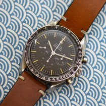 Omega Speedmaster Professional Moonwatch pre-owned 40mm Chronograph Leather