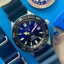 Seiko Prospex Steel 42.6mm Blue No numerals
