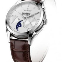 Pequignet Rue Royale Steel 40mm Silver No numerals