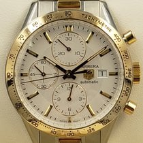 TAG Heuer Carrera Calibre 16 Gold/Steel 41mm White