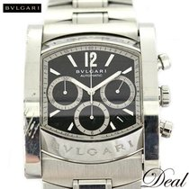 Bulgari Assioma AA48BSSDCH AA48SCH pre-owned
