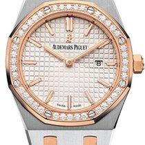 Audemars Piguet Royal Oak Lady новые Кварцевые Часы с оригинальными документами и коробкой 67651SR.ZZ.1261SR.01