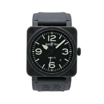 Bell & Ross BR 03-92 Ceramic Steel 42mm Black Arabic numerals United States of America, New York, New York