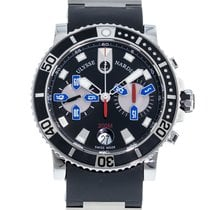 Ulysse Nardin Maxi Marine Diver 8003-102-3/92 Very good Steel 42.7mm Automatic