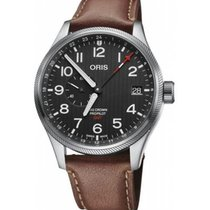 Oris Big Crown ProPilot GMT Zeljezo 45mm Crn