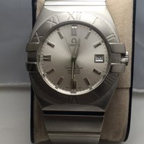 Omega Constellation Double Eagle Steel 38mm Silver No numerals