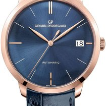 Girard Perregaux Rose gold Automatic Blue 41mm new 1966