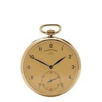 IWC Vintage Turler Pocket Watch 18K Yellow Gold Men's - COM786