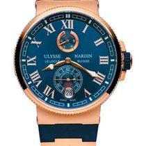 Ulysse Nardin Marine Chronometer 18K Rose Gold Men's Watch