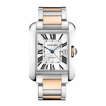 Cartier Tank Anglaise Large Mens Watch  Automatic W5310006...
