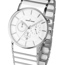 Jacques Lemans High Tech Ceramic York Steel 42mm White
