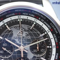 Breitling Transocean Chronograph Unitime #AB0510U4/BE84/256S