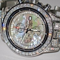 Breitling Super Avenger Steel 48mm Mother of pearl No numerals United States of America, New York, NEW YORK CITY