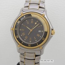 Ebel Wave Discovery Stahl/ Gold, 40mm 183913