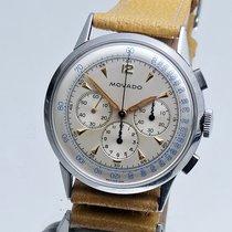 Movado steel m95 chronograph in NOS condition