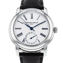Frederique Constant 42mm Automatic 2017 pre-owned Manufacture Classic White
