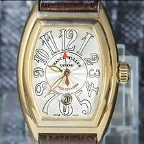 Franck Muller Yellow gold 28mm Automatic 8001 L SC pre-owned