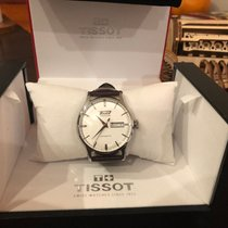 Tissot pre-owned Automatic 40mm Silver Sapphire Glass 3 ATM