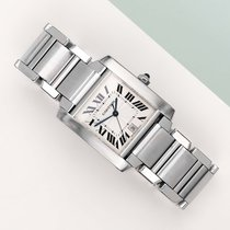 Cartier Tank Française 2302 tweedehands
