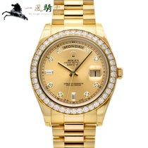 Rolex Day-Date II Żółte złoto 41mm Szampański