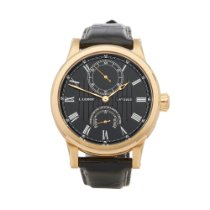 L.Leroy Or jaune 43mm Remontage automatique occasion