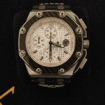 Audemars Piguet Royal Oak Offshore Chronograph Steel 44mm White No numerals