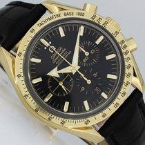 Omega Speedmaster Broad Arrow Yellow gold 42mm Black