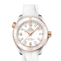 Omega Seamaster Planet Ocean 215.23.40.20.04.001 New Gold/Steel 39.5mm Automatic