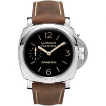 Panerai Luminor Marina 1950 3 Days Steel 47mm Black Arabic numerals United States of America, Pennsylvania, Holland