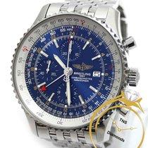 Breitling Navitimer World 46mm Bleu