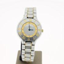 Cartier Must 21 Steel/Gold 28mm (B&P2000) FINE Quartz