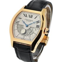 Cartier W1553551 Tortue GMT Day-Night XL - Rose Gold on Strap...