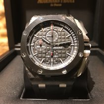 Audemars Piguet Royal Oak Offshore Chronograph Carbon B&P