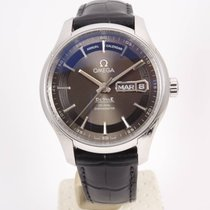 Omega De Ville Hour Vision Steel 41mm Black Arabic numerals
