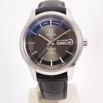 Omega De Ville Hour Vision Acero 41mm Negro Arábigos