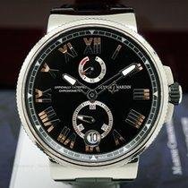 Ulysse Nardin 1183-122-42 Marine Chronometer Manufacture Black...