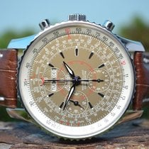 Breitling 43mm Navitimer Montbrillant Datora Chronograph,...