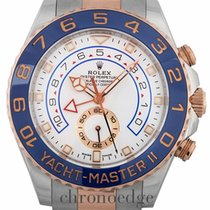 Rolex Yacht-Master II Stainless Steel and 18ct Everose 116681