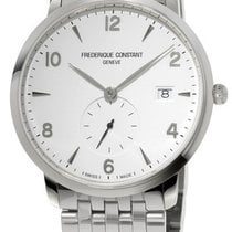 Frederique Constant Slimline Gents Steel White United States of America, New York, Brooklyn