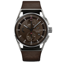 Porsche Design 1919 Titanium 42mm Brown Arabic numerals