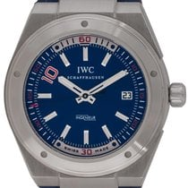 IWC Ingenieur Automatic Steel 44mm Blue United States of America, Texas, Austin