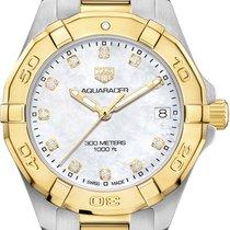 TAG Heuer Aquaracer Lady new 2018 Quartz Watch with original box and original papers WBD1322.BB0320