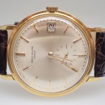 Patek Philippe Calatrava Automatic 18k Yellow Gold Mens Watch...