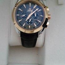 Omega Seamaster Aqua Terra Or/Acier Brun Belgique, Merendree