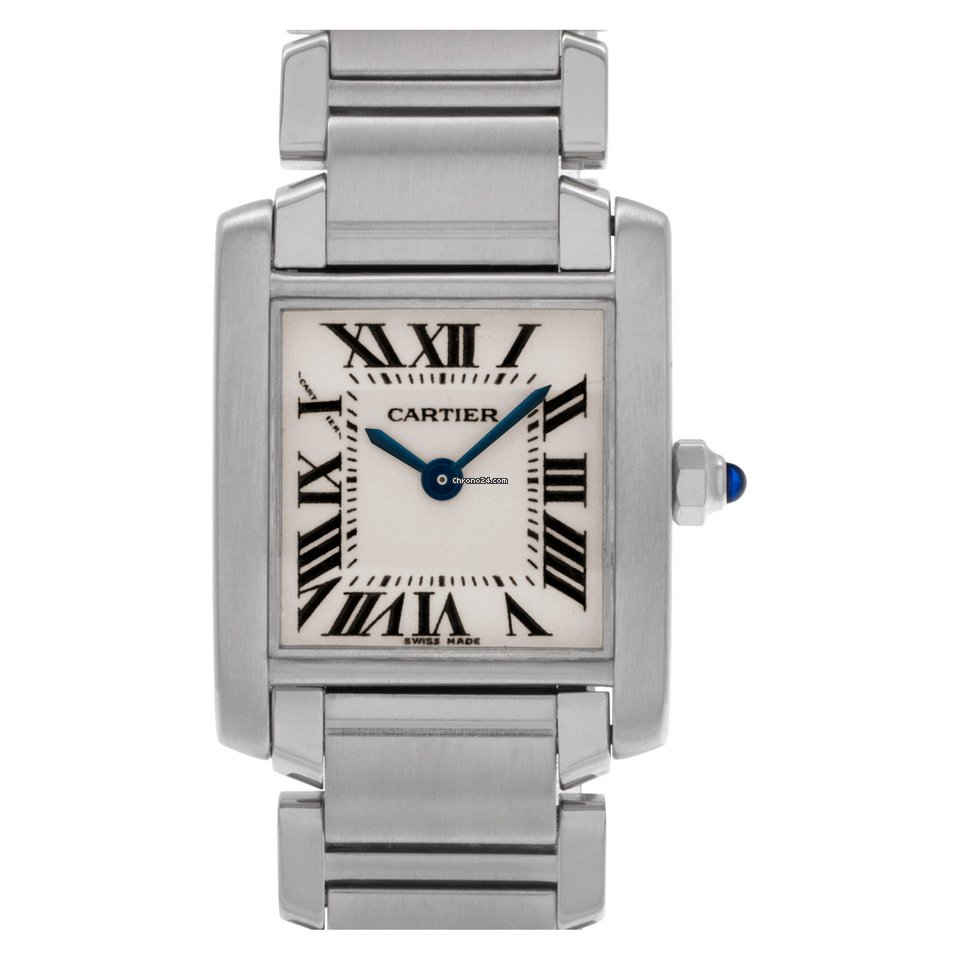 aa3ee742534 Cartier Tank Francaise w51008q3 stainless steel
